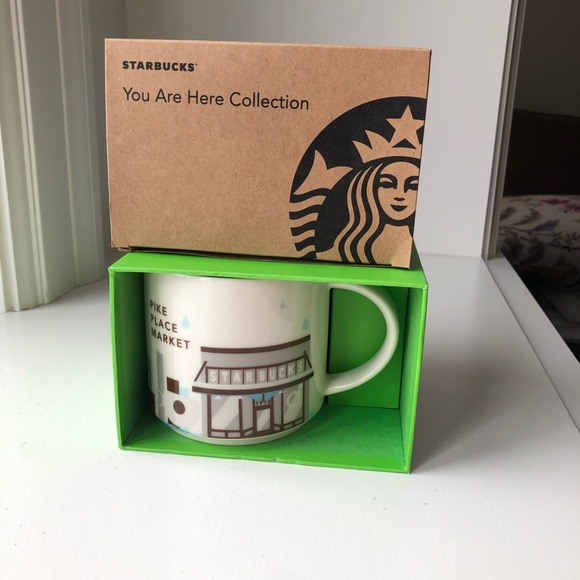 🆕 Starbucks Pike Place Mug